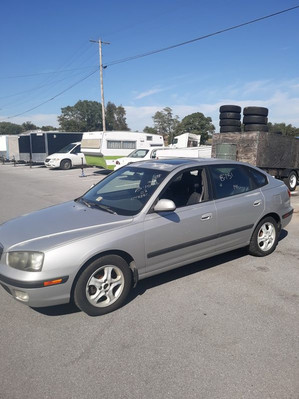 2004 Hyundai Elantra hatchback 5 speed manual transmission