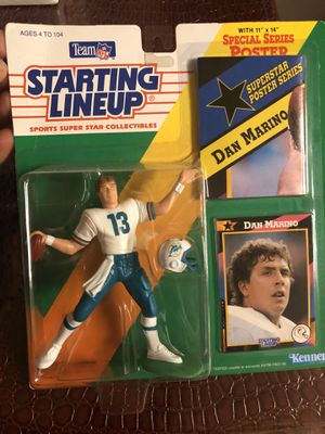 Dan marino collectible toy new for Sale in Pasadena, CA