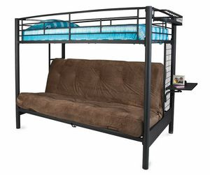 NEW futon Bunkbed n box NO MATTRESSES for Sale in Detroit, MI