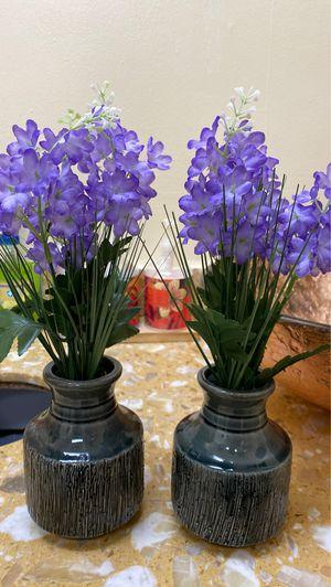 Two Small Flower Vases for Sale in Alpharetta, GA