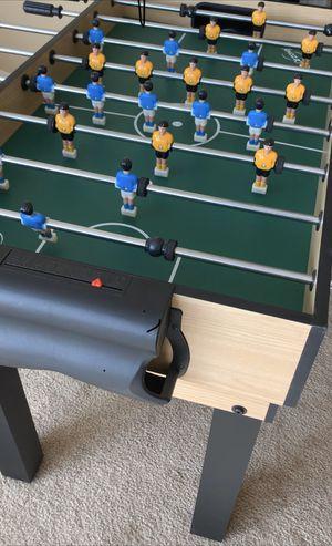 48'' 7 In-1 Multi Combo Game Table Foosball Soccer Billiards Pool Hockey For Kids for Sale in Corona, CA