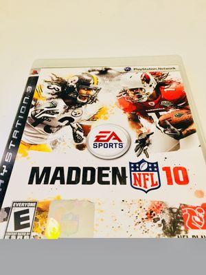 Madden 10 (PS3) for Sale in Raleigh, NC