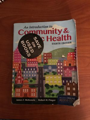 An Introduction to Community & Public Health (Eighth Edition) by James F. McKenzie and Robert R. Pinger for Sale in New Orleans, LA