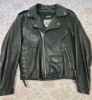 Heavy Leather Motorcycle Jacket with Thermal lining for Sale in Brentwood, TN