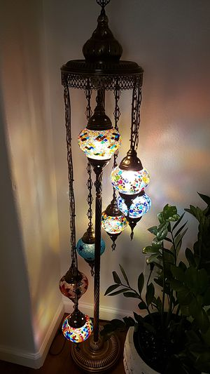 Mosaic floor lamp for Sale in Las Vegas, NV