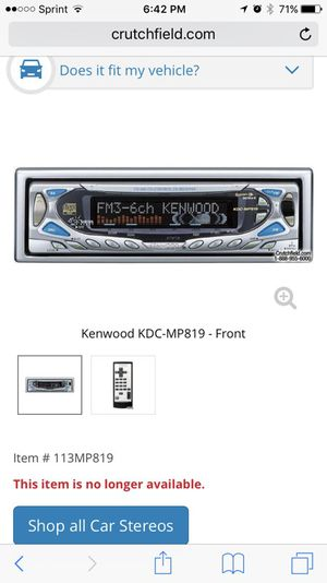 Car Radio and Amplifier for Sale in Ashburn, VA