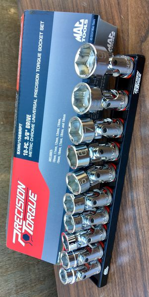 Mac Tools 10pc Metric Universal Joint Non-Slip Precision Torque Sockets ((( $220 OBO ))) ❗️New ❗️ 10mm-19mm❗️ for Sale in Riverside, CA