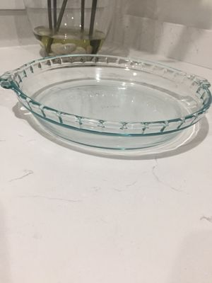 Brand New 10 inch Pyrex pie glass pan dish for Sale in Davie, FL