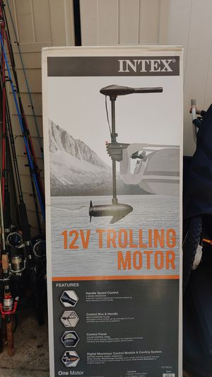 Intex 12V Trolling Motor for Sale in Queens, NY
