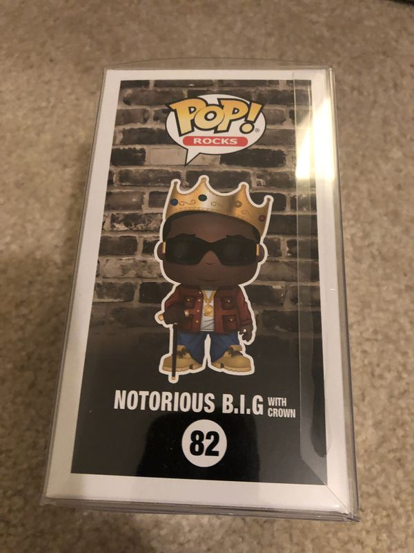 FUNKO POP! NOTORIOUS B.I.G. #82 TOY TOKYO EXCLUSIVE