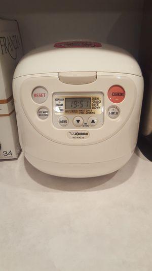 Zojirushi - NS-WAC18 Micom Rice Cooker & Warmer for Sale in Chelan, WA