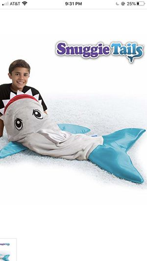 Snuggie Tail shark blanket for Sale in West Linn, OR