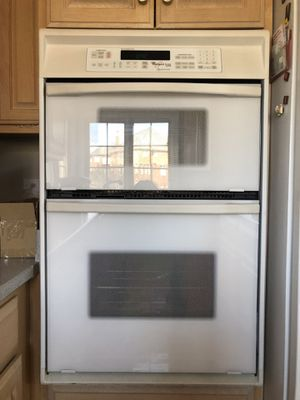 Whirlpool Kitchen Appliance Set with Cooktop(never used), wall microwave oven combo (oven never used), dishwasher for Sale in Burr Ridge, IL