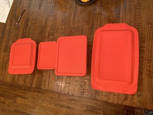 Pyrex rectangular boxes large size for Sale in Morrisville, NC