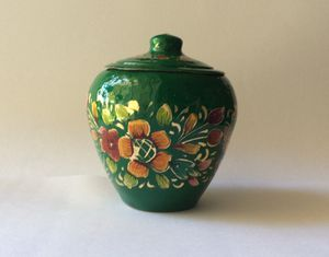 Painted Small Copper Pot for Sale in Long Beach, CA