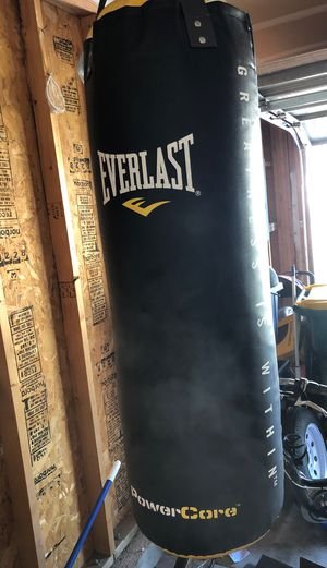 Everlast punching bag for Sale in Indianapolis, IN