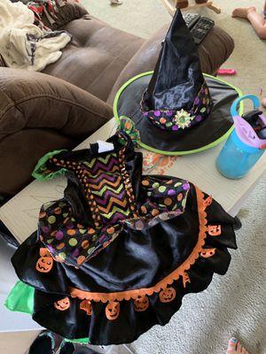 Pumpkin witch costume for Sale in Elma, WA