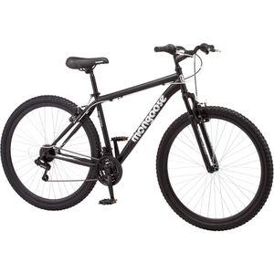 Mongoose Excursion Men's Mountain Bike, 29 inch wheels, 21 speeds, black / white for Sale in Hayward, CA