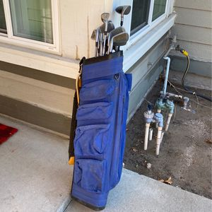 Golf Clubs And Bag..make Offer Need Gone Today for Sale in Loma Linda, CA