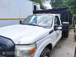 2011 FORD F350 SUPER DUTY AUTO GAS AC 12 FT DUMP BED NEED FINANCING CONTACT OLIVER 305TRUCKGURU for Sale in Orlando, FL