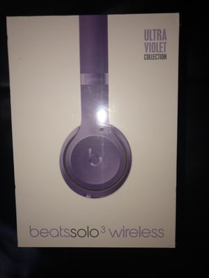Brand new bluetooth earphones headset headphones noise cancelling beats solo 3 long lasting battery for Sale in Miami, FL