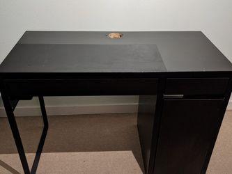 Used Micke Ikea Computer Desk for Sale in Seattle,  WA