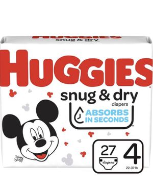 Huggies diapers for Sale in Weymouth, MA