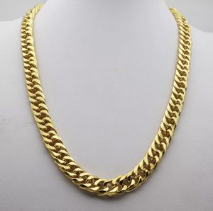 "New 18K Yellow Gold Filled 24"" Heavy Cuban Chain/Necklace for Sale in Las Vegas, NV"