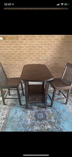Dining table with 2 chairs for Sale in Denver, CO