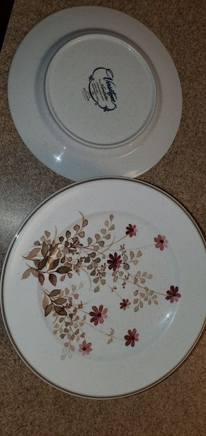 "Vintage (10 Plates) Verastone By Noritake ""OUTLOOK PATTERN"" Production 1977~1983 for Sale in Fort Lewis, WA"