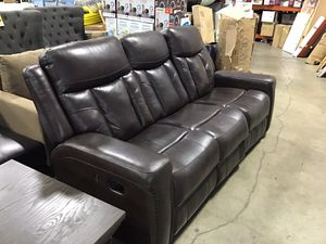 Leather couch for $54 down for Sale in Houston, TX