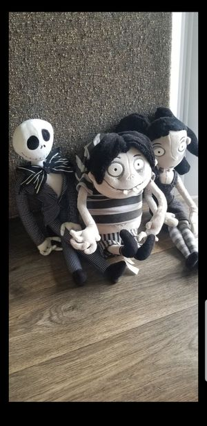 TIM BURTON collection / The nightmare before christmas / frankenweenie / disney plush / collectibles for Sale in Orlando, FL