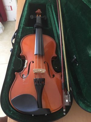 Violin with case and microphone pickup for Sale in Lauderhill, FL