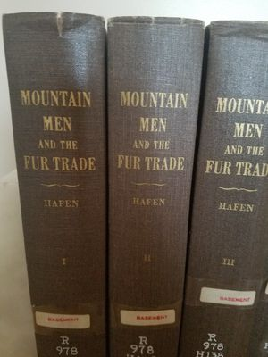 The Mountain Men and the Fur Trade for Sale in Fullerton, CA
