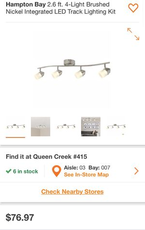 NEW*. Unopened Track Lighting by Hampton Bay for Sale in Payson, AZ