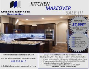 Kitchen Cabinets Espresso Shaker for Sale in Lakewood, CA