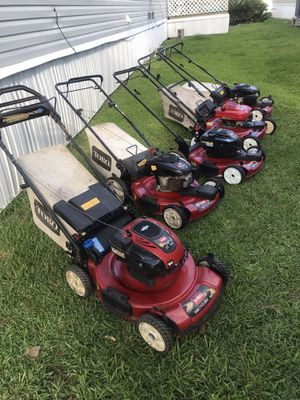 Toro mower self propelled in good conditions for Sale in San Leon, TX