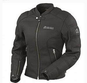 Women's Icon Tuscadero Leather Motorcycle Jacket for Sale in Jacksonville, FL