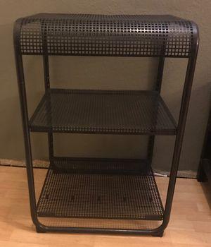 Black 3 Shelf Metal for Sale in Industry, CA
