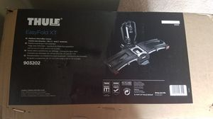 Thule easyfold xt2 bike rack. Brand new for Sale in Atlanta, GA