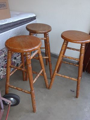 SET 3 BANCOS altos for Sale in Manteca, CA