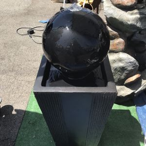 Sphere Water Fountain for Sale in Vernon, CA
