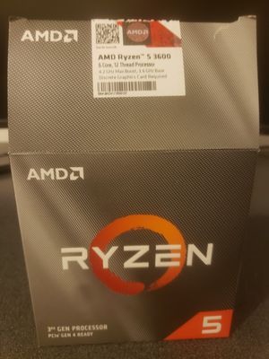 Ryzen 5 3600 CPU for Sale in Palm Bay, FL