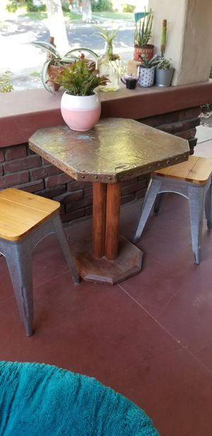 Copper table set for Sale in Fresno, CA