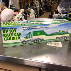 BP toy Race Car Carrier NEW for Sale in Marlboro Township,  NJ