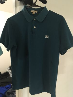 Size medium Burberry polos for Sale in Aldie, VA