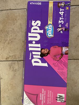 Huggies pull ups size 3T-4T for Sale in La Presa, CA