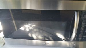 Samsung microwave over the range stainless steel for Sale in Belle Isle, FL