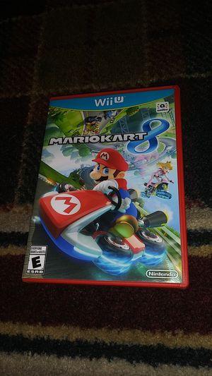 MARIO KART 8 - (USED) Nintendo Wii U video game for Sale in Stockton, CA