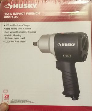 Husky Impact Wrench New for Sale in Jersey City, NJ